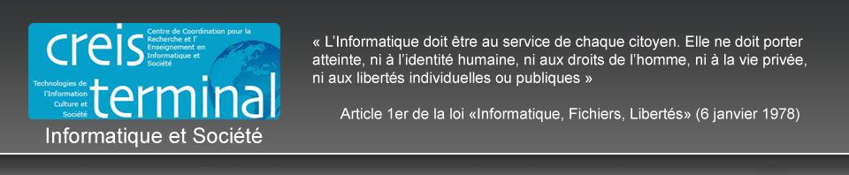 Informatique et Société